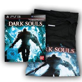 Als Hauptpreis gibt es das faszinierende Rollenspiel Dark Souls für die Playstation 3 mit passendem T-Shirt.