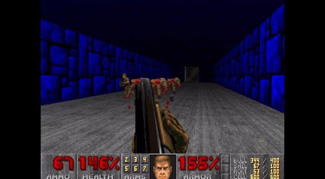 In einem geheimen Level trefft ihr auf Zombie-Soldaten (Bild aus der BFG-Edition).