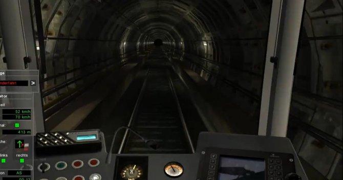 Der U-Bahn Simulator entführt euch in die Schächte Berlins.