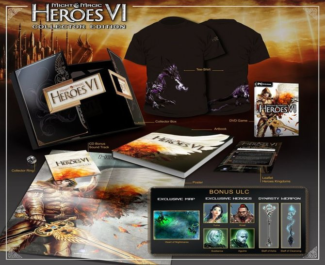 Die Sammler-Edition von Might & Magic - Heroes 6 ...