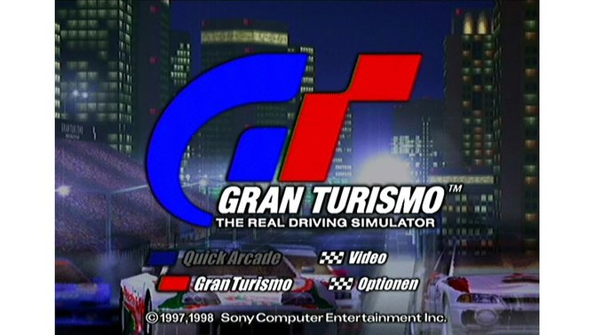 1998 revolutioniert Gran Turismo das Rennspiel-Genre mit ungeahnter Detailtiefe.
