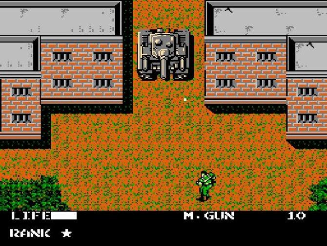 In Metal Gear bekämpft Snake Panzer, Wachen und sogar Hunde. ...