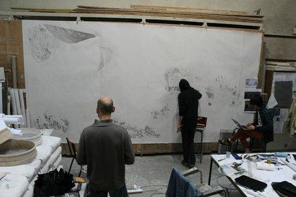 Ubisoft erstellt zu Assassin's Creed 4 ein großes Wandgemälde.