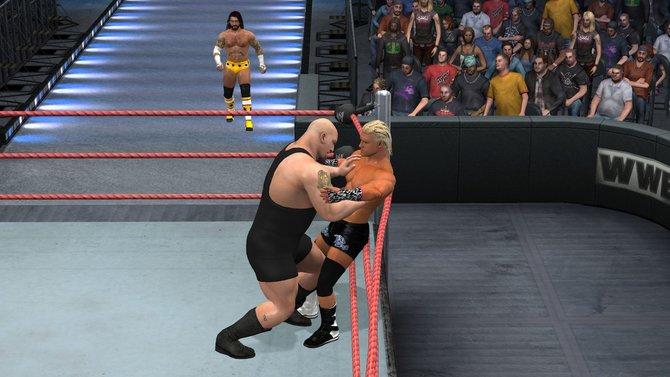 In Smackdown vs. Raw 2011 (Bild links) ist Big Show schon ein imposanter Gegner. WWE ...