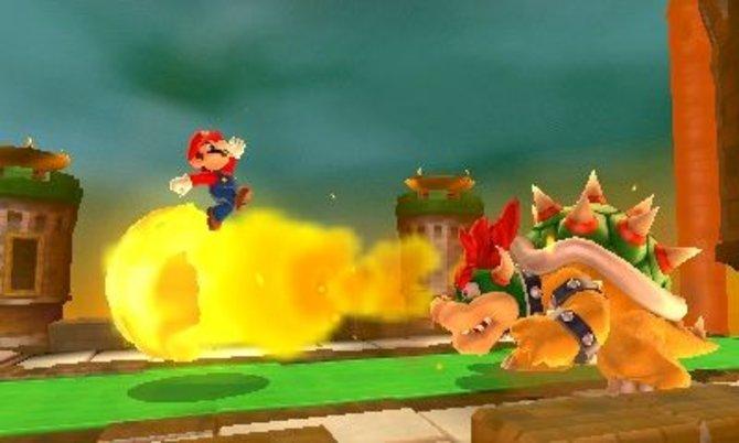 Mit Super Mario will Nintendo den 3DS attraktiv für Mario-Anhänger machen. Auf Wii erwartet ...