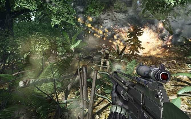 Crysis war das Highlight der Games Convention. Command & Conquer Tiberian ...
