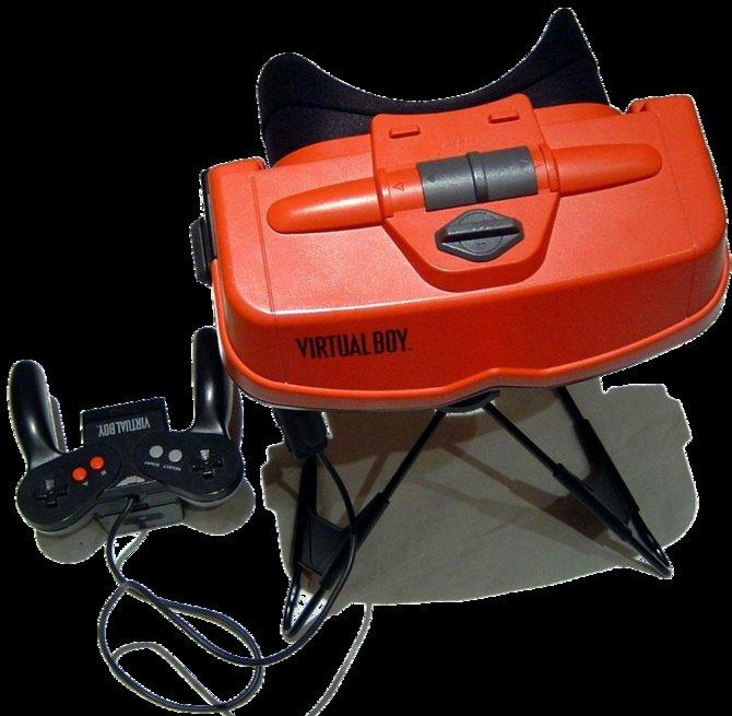 Der Virtual Boy war Nintendos erfolgloseste Konsole - aber ein Technik-Pionier.