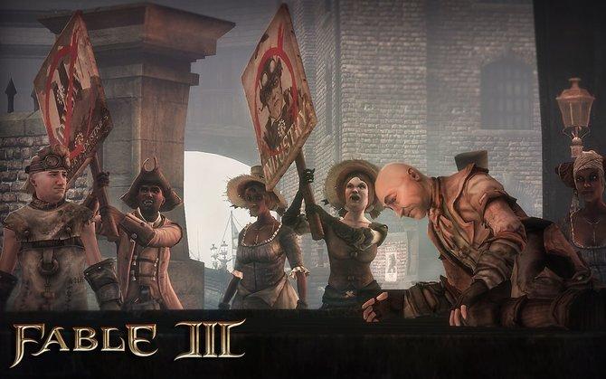 In Fable 3 können zwei Helden im kooperativen Spiel gemeinsam unterwegs sein.