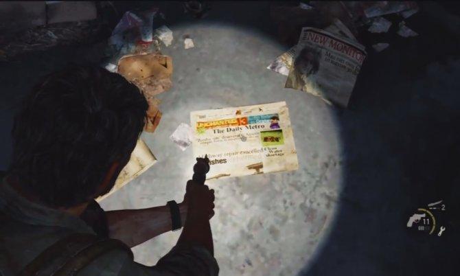 Wer in The Last of Us ganz genau hinschaut, entdeckt eine Zeitung ...
