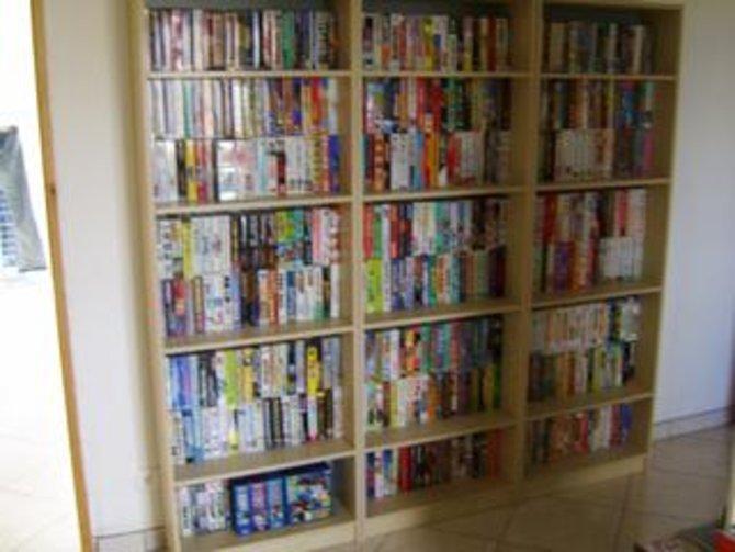 """Hier seht ihr """"Teile"""" einer der wahrscheinlich größten Videospiel-Sammlungen der Welt."""