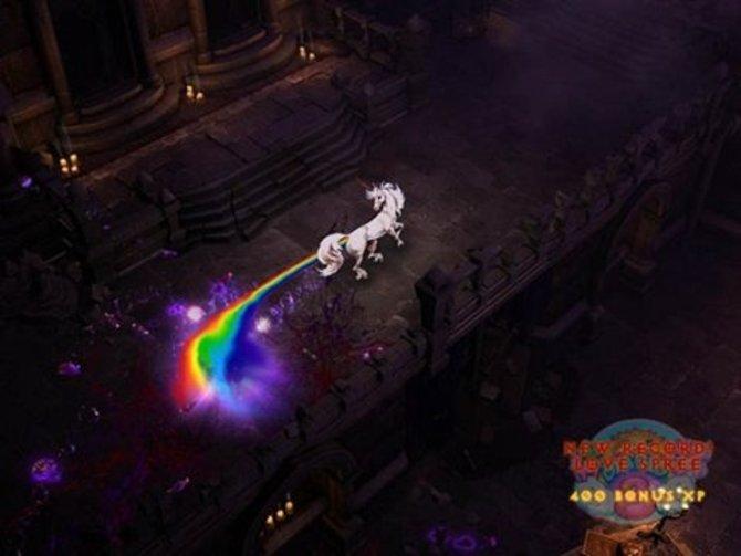 Mit diesem Bild haben die Entwickler auf die Vorwürfe reagiert, dass Diablo 3 zu bunt sei.