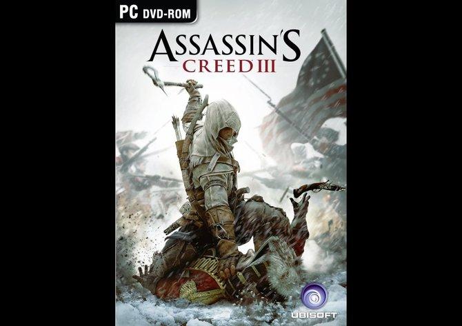 Das offizielle Titelbild zu Assassin's Creed 3 bestätigt - der amerikanische Revolutionskrieg ist das bestimmende Thema.