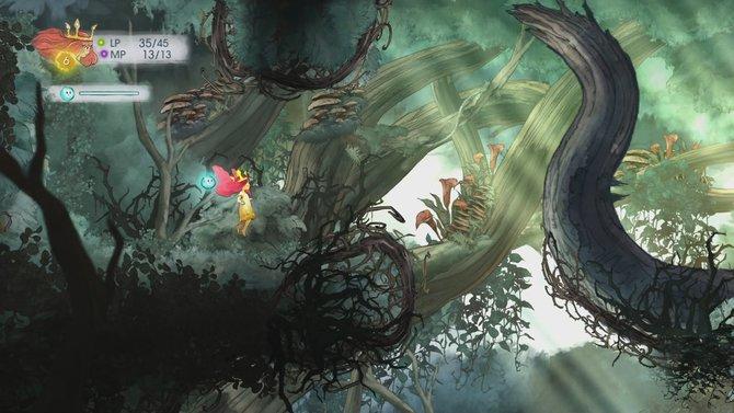 Child of Light: Jeder Hintergrund ist handgezeichnet.