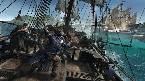 Connor als Kapitän der Aquila.