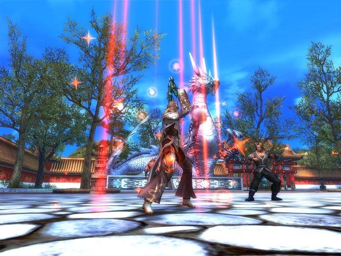 Das Online-Rollenspiel basiert auf der�Unreal Engine 2.5, die auch in vielen Shootern zum Einsatz kommt.�