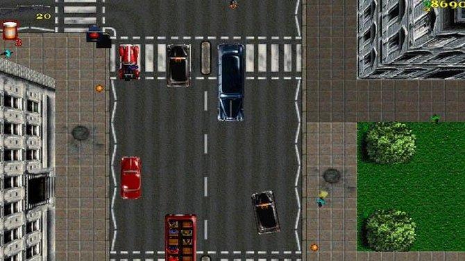 Auf den ersten Blick wirkt der erste Teil von Grand Theft Auto harmlos.