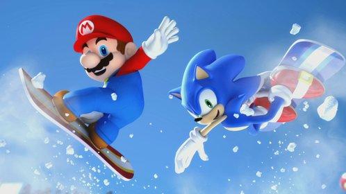 Mario & Sonic machen bei den Olympische Winterspielen eine gute Figur.
