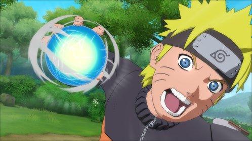 Naruto mit einer seiner stärksten Techniken: dem Rasengan.