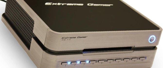 Xtreme Gamer XG-10: zehnfach Disc-Wechsler für Playstation 3, Xbox 360 und Nintendo Wii.
