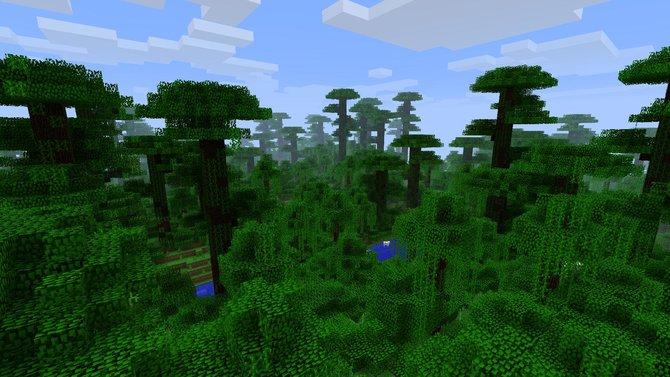 Minecraft bekommt demnächst ein Dschungel-Gebiet.