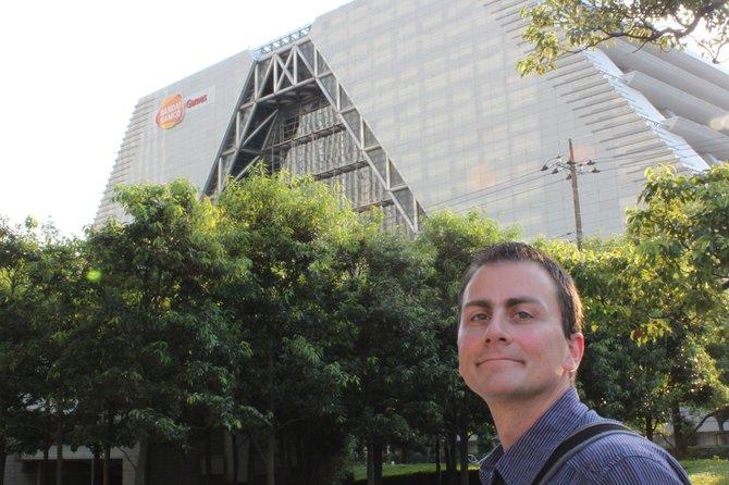 spieletipps-Redakteur Thomas Stuchlik besucht die Firmenzentrale von Bandai ...