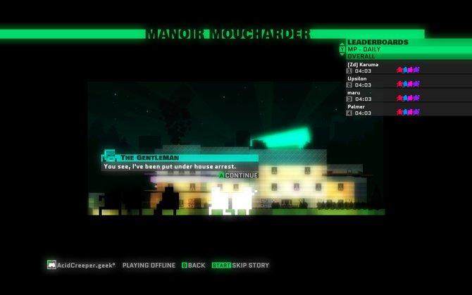 Zu Beginn einer Mission erzählt euch das Spiel in witzigen Dialogen die Geschichte.