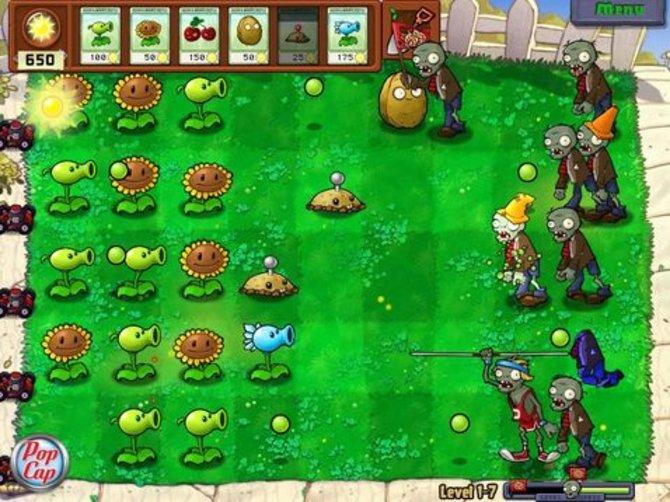 Zu Pflanzen gegen Zombies 2 gibt es noch keine Bilder, allerdings dürfte das Spiel ähnlich aussehen wie der Vorgänger.