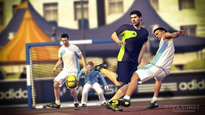 Superstar Messi ziert nicht nur die Fifa-Street-Verpackung, der Argentinier ist natürlich auch als Spieler verfügbar.