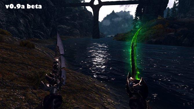 Der Splitter von Azzinoth (rechts in Bild 1) stammt ursprünglich aus World of Warcraft. Besonders hübsch ist sein Glüh-Effekt bei Nacht. ...