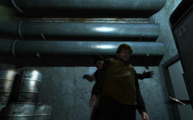 Die drei Hauptaspekte des Spiels: Lautlos Gegner töten, per Minispiel ...
