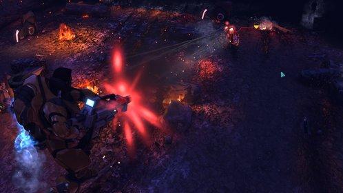 Der Tod kommt von oben: Mit dem Fluganzug können die Xcom-Soldaten große Teile des Schlachtfelds kontrollieren