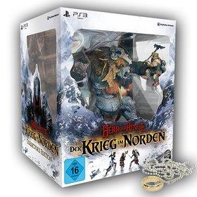 Gewinnt die Collectors Edition von Der Herr der Ringe - Krieg im Norden für PS3 und den einen Ring aus der Der-Herr-der-Ringe-Saga.