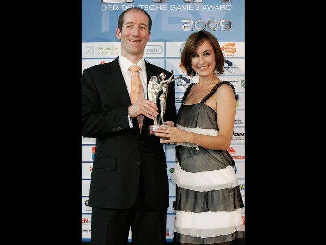 Über die Lara Awards 2009 freuen sich Geschäftsführer Dr. Olaf ...