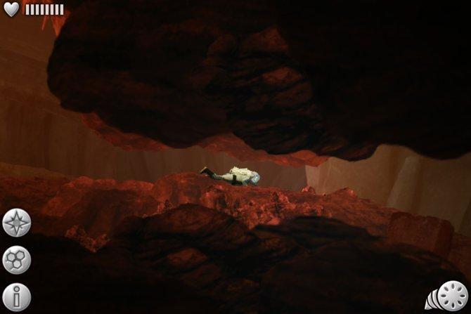 In unterirdischen Höhlen tastet ihr euch langsam voran.