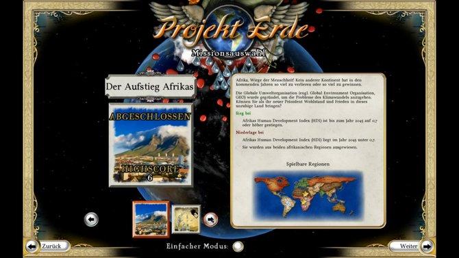 In Projekt Erde - Wendepunkt kümmert ihr euch zunächst um die Probleme in Afrika. ...