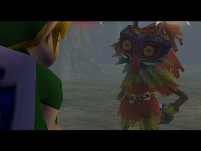 In Majora's Mask dreht sich alles um das sogenannte Skullkid. Das ist dafür verantwortlich, dass der Mond auf die Erde hinab stürzt.