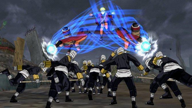 Auch in Ultimate Ninja Impact kann Naruto seine Schatten-Doppelgänger rufen.