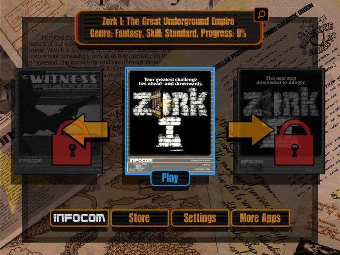 Lost Treasures of Infocom lässt die goldene Zeit der Text-Adventures wieder aufleben.