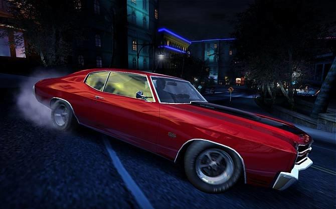 450 PS sorgen bei der Chevy Chevelle für ordentlich Reifenqualm. Das ...