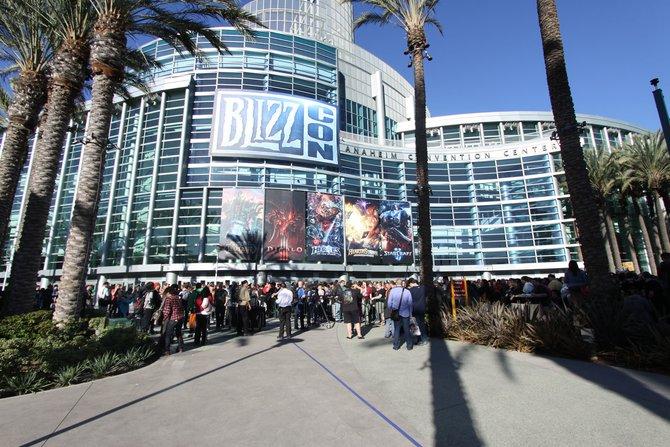 Wie in den vergangenen Jahren findet die Blizzcon im Convention Center in Anaheim statt.