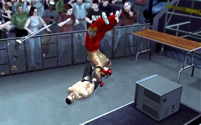 Das Bild zu Smackdown vs. Raw 2007 zeigt sehr schön, was uns im Spiel erwartet. ...