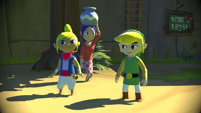 Wind Waker scheint für Wii U im Herbst 2013.