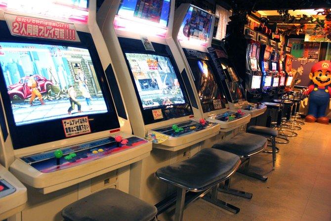 In Europa längst tot, blühen Spielhallen in Japan auf. Doch auch ...
