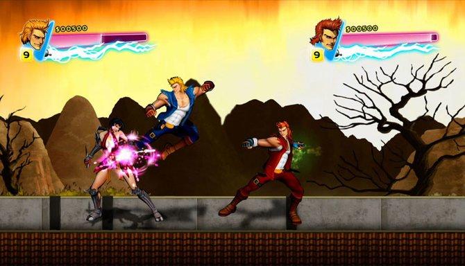 Double Dragon Neon ist die Neuauflage eines 8-Bit-Klassikers.