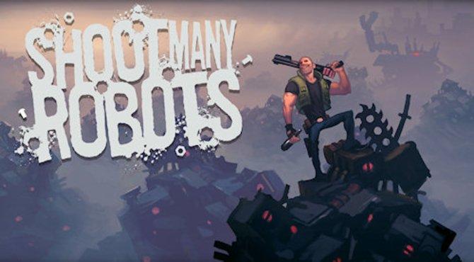 In Shoot Many Robots müsst ihr, wie der Name schon sagt, viele Roboter über den Haufen schießen.