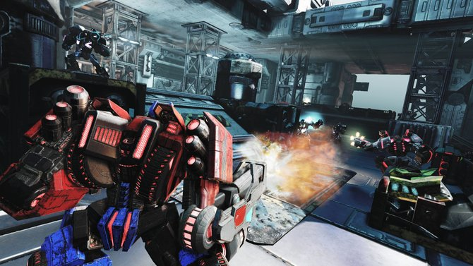 Die Autobots liefern sich mit den Decepticons einen erbitterten Kampf um das letzte Energon.