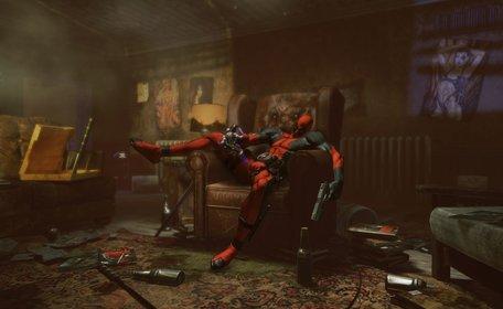 Auch ein Superheld wie Deadpool braucht mal ein bisschen Ruhe.