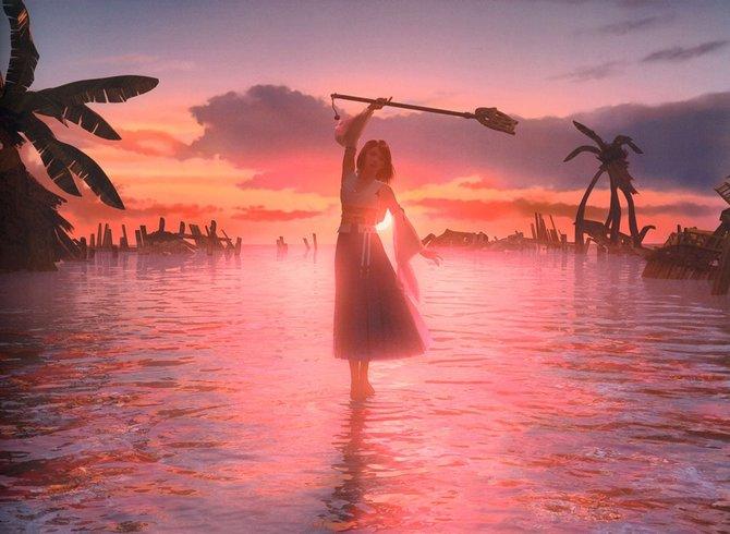 Final Fantasy 10: Die Grafik war seinerzeit überragend.
