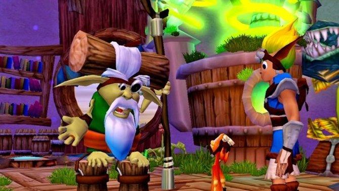 Ihr trefft euren Mentor Samus, der grüne Eco Weise, einen freundlichen, älteren ...