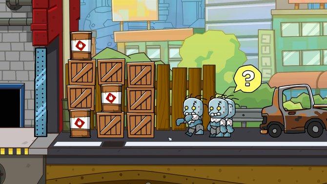 Löst in Scribblenauts Unlimited Probleme mit Worten. Ihr erschafft jeden erdenklichen Gegenstand und helft den Personen...oder auch mal Zombies.